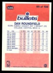 1986 Fleer #95  Dan Roundfield  Back Thumbnail
