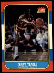 1986 Fleer #107  Terry Teagle  Front Thumbnail