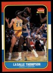 1986 Fleer #110  LaSalle Thompson  Front Thumbnail