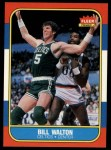 1986 Fleer #119  Bill Walton  Front Thumbnail
