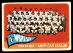 1965 Topps #234   White Sox Team Front Thumbnail