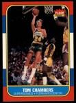 1986 Fleer #15  Tom Chambers  Front Thumbnail