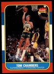 1986 Fleer #15  Tom Chambers  Front Thumbnail