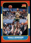 1986 Fleer #45  Gerald Henderson  Front Thumbnail