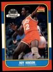 1986 Fleer #46  Roy Hinson  Front Thumbnail