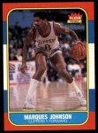 1986 Fleer #54  Marques Johnson  Front Thumbnail