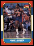 1986 Fleer #56  Vinnie Johnson  Front Thumbnail