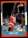 1986 Fleer #65  Lewis Lloyd  Front Thumbnail