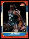 1986 Fleer #86  Sam Perkins  Front Thumbnail