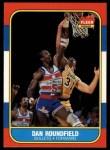 1986 Fleer #95  Dan Roundfield  Front Thumbnail