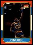 1986 Fleer #100  Purvis Short  Front Thumbnail