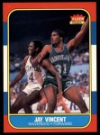1986 Fleer #118  Jay Vincent  Front Thumbnail