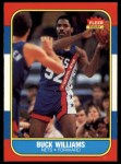 1986 Fleer #123  Buck Williams  Front Thumbnail