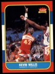 1986 Fleer #126  Kevin Willis  Front Thumbnail