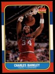 1986 Fleer #7  Charles Barkley  Front Thumbnail