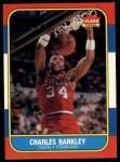 1986 Fleer #7  Charles Barkley  Front Thumbnail