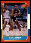 1986 Fleer #55  Steve Johnson  Front Thumbnail
