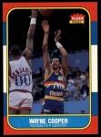 1986 Fleer #18  Wayne Cooper  Front Thumbnail