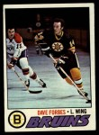 1977 Topps #143  Dave Forbes  Front Thumbnail