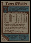 1977 Topps #220  Terry O'Reilly  Back Thumbnail