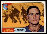 1968 Topps #68  Arnie Brown  Front Thumbnail