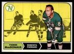 1968 Topps #55  Parker MacDonald  Front Thumbnail