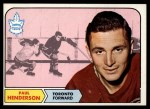 1968 Topps #127  Paul Henderson  Front Thumbnail