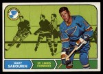 1968 Topps #117  Gary Sabourin  Front Thumbnail