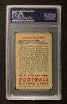 1951 Bowman #14  Robert Williams  Back Thumbnail