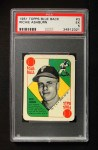 1951 Topps Blue Back #3  Richie Ashburn  Front Thumbnail
