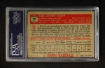 1952 Topps #72 RED Karl Olson  Back Thumbnail