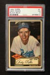 1952 Topps #1 BLK Andy Pafko  Front Thumbnail