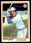 1978 Topps #59  Otto Velez  Front Thumbnail