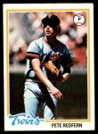 1978 Topps #81  Pete Redfern  Front Thumbnail