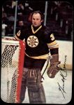 1977 Topps O-Pee-Chee Glossy #2 RND Gerry Cheevers  Front Thumbnail