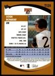 2002 Topps Traded #131 T Josh Bonifay  Back Thumbnail