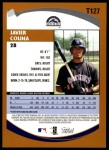 2002 Topps Traded #127 T Javier Colina  Back Thumbnail