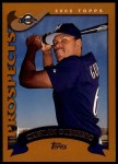 2002 Topps Traded #148 T Cristian Guerrero  Front Thumbnail