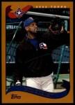 2002 Topps Traded #79 T Carl Everett  Front Thumbnail
