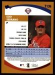 2002 Topps Traded #136 T Elio Serrano  Back Thumbnail