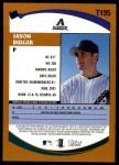 2002 Topps Traded #195 T Jason Bulger  Back Thumbnail