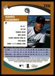 2002 Topps Traded #232 T Hansel Izquierdo  Back Thumbnail