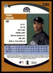 2002 Topps Traded #265 T Tony Miller  Back Thumbnail