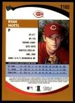 2002 Topps Traded #182 T Ryan Mottl  Back Thumbnail