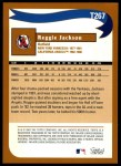 2002 Topps Traded #267 T  -  Reggie Jackson Who Would Have Thought Back Thumbnail
