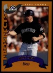 2002 Topps Traded #211 T Jack Cust  Front Thumbnail