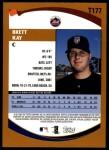 2002 Topps Traded #177 T Brett Kay  Back Thumbnail
