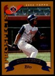 2002 Topps Traded #196 T Chone Figgins  Front Thumbnail