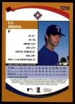 2002 Topps Traded #218 T C.J. Wilson  Back Thumbnail