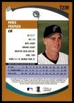 2002 Topps Traded #239 T Mike Peeples  Back Thumbnail